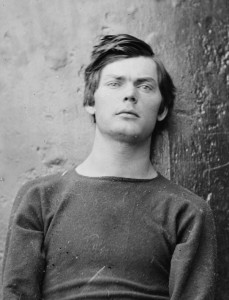 Portrait (detail) of Lewis Powell (1865).